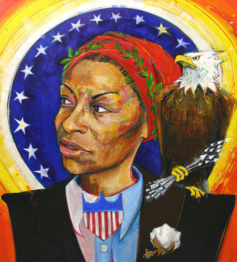 an African American woman as the President of the United States