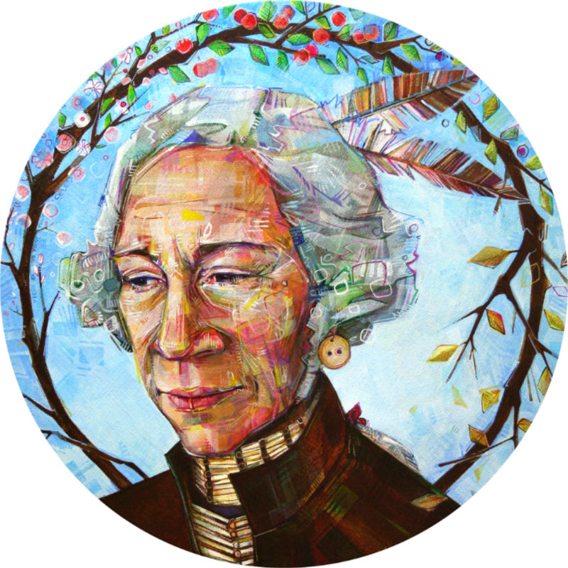 Native American George Washington