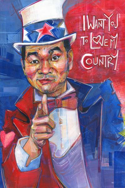 Vietnamese-American Uncle Sam