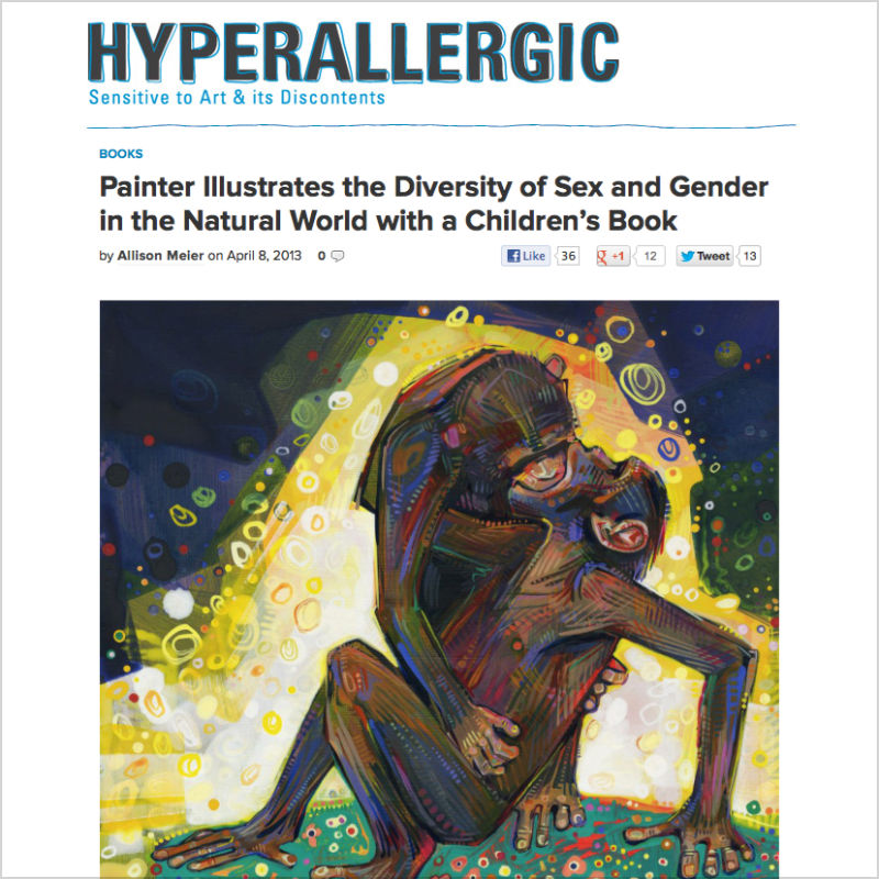Gwenn Seemel on Hyperallergic