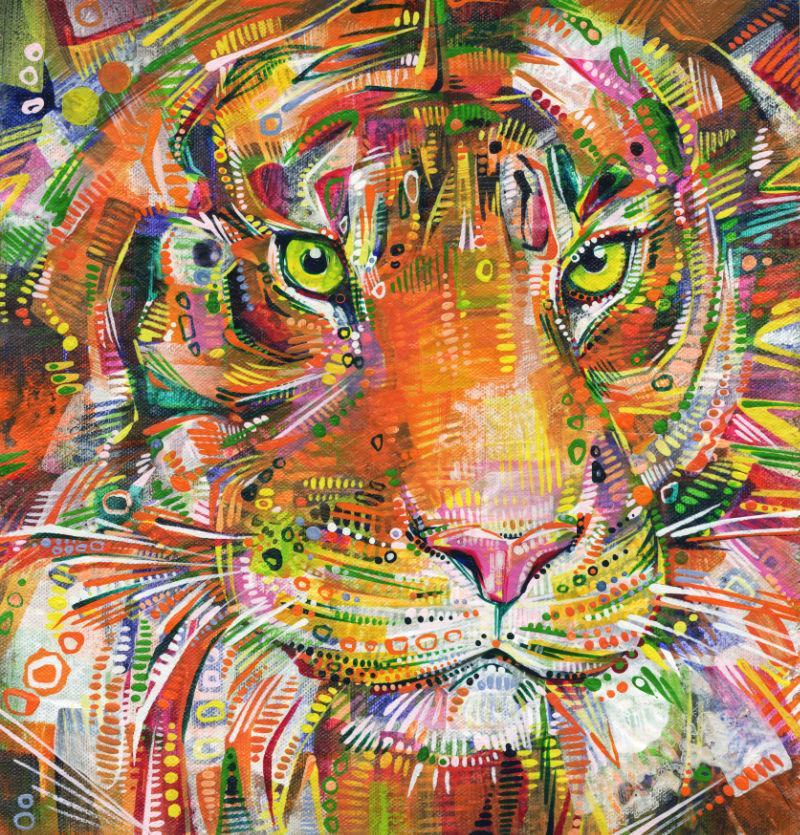 tiger by Gwenn Seemel