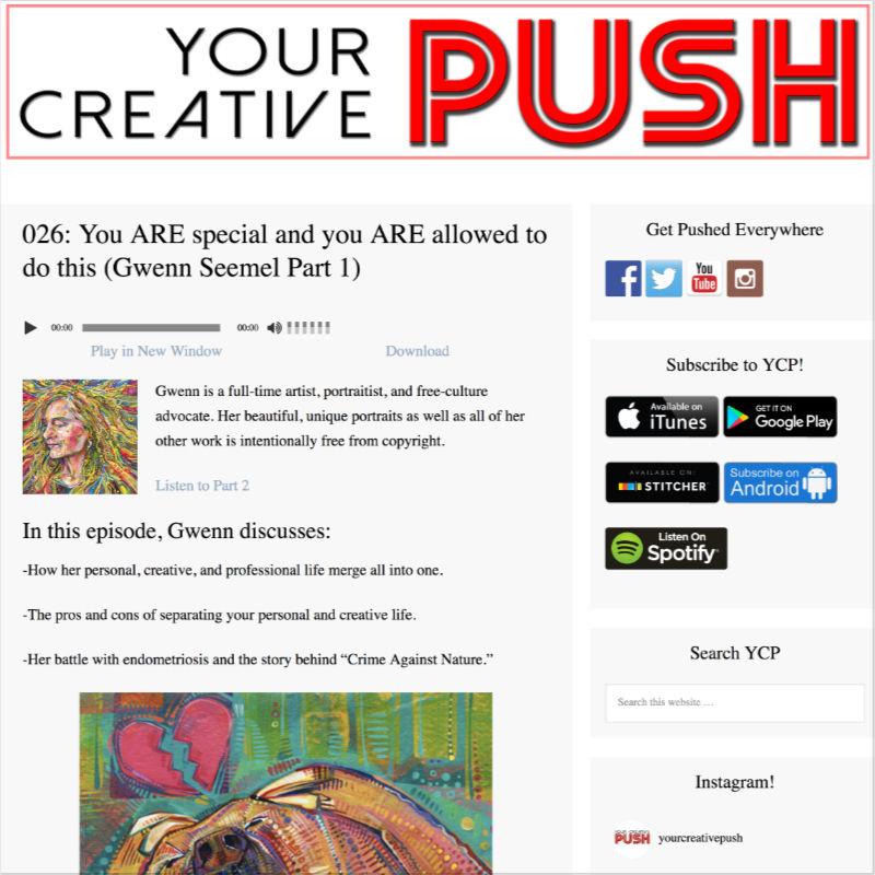 About the Independent Artist Gwenn Seemel