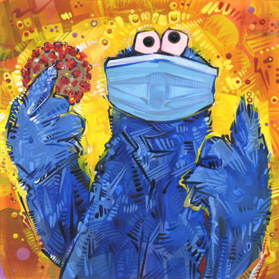 C is for COVID, Cookie Monster