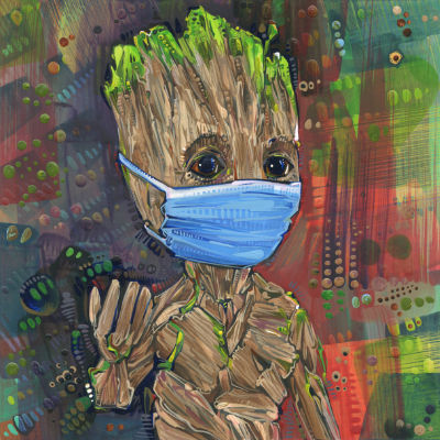 Groot, Gardiens de la Galaxie fan art