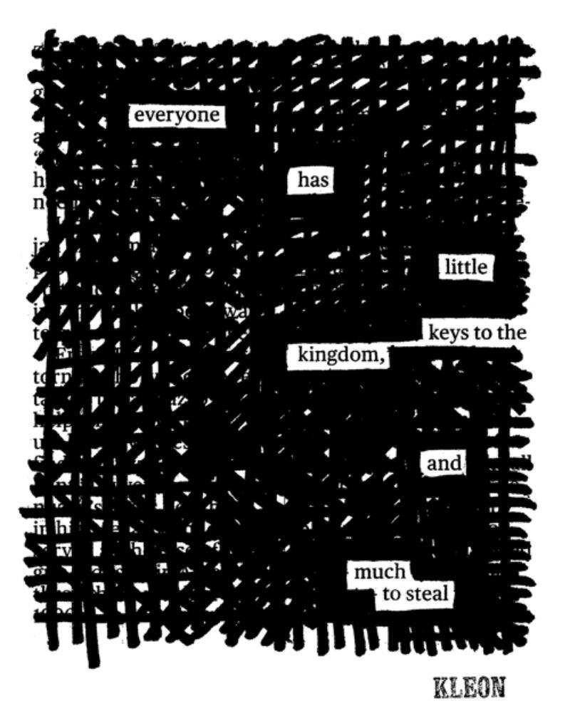 Austin Kleon's Little Keys to the Kingdom