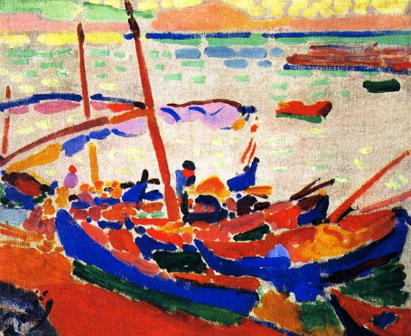Andre Derain Collioure 1905