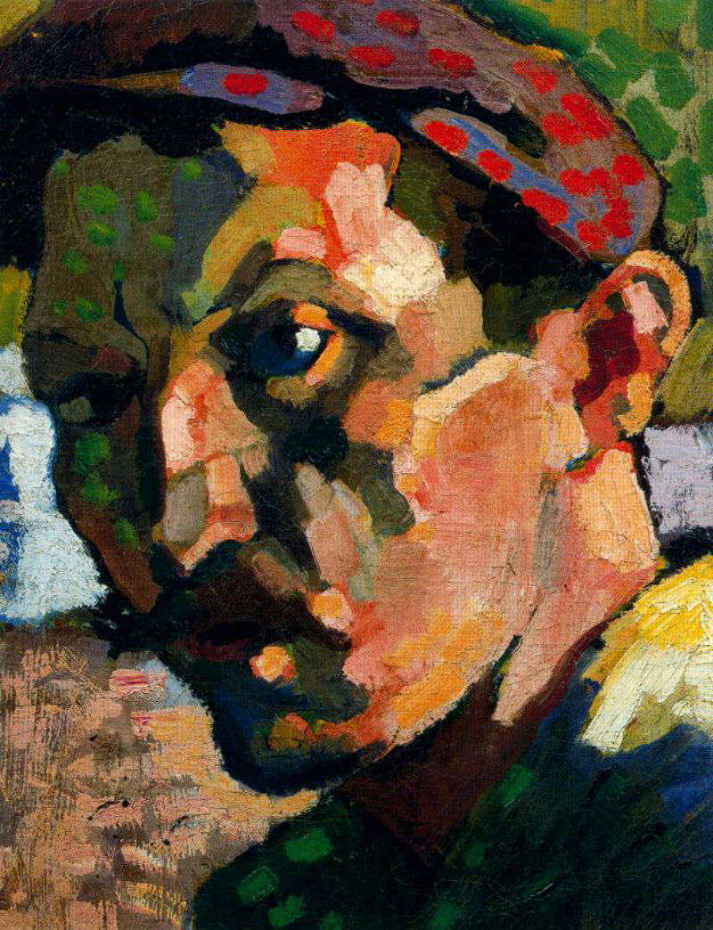 Andre Derain Self-portrait with cap 1905
