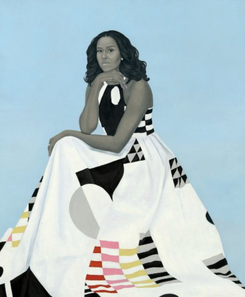 Amy Sherald's Michelle Obama